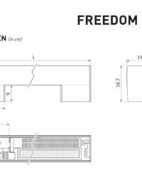 Afmetingen Jaga Freedom Micro