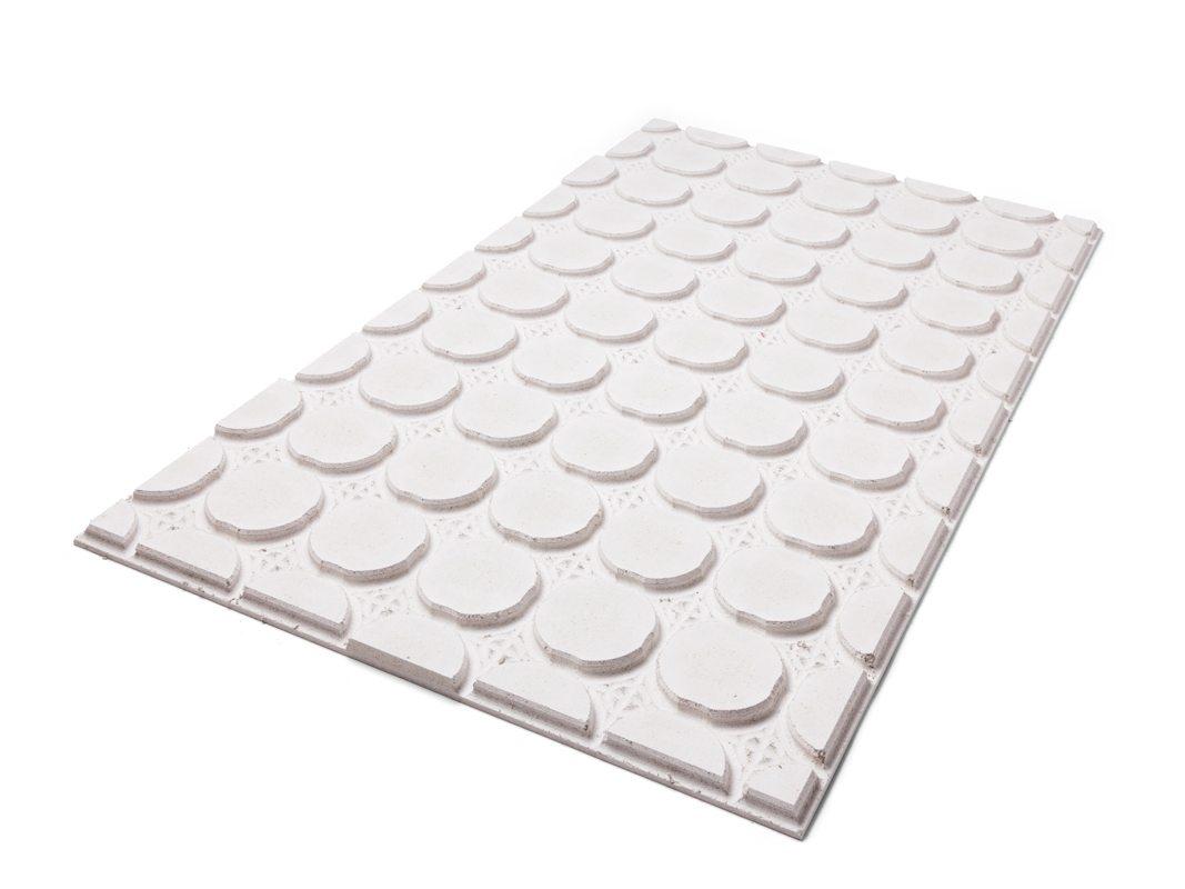 Droogbouw vloerverwarming met slechts 20mm opbouwhoogte