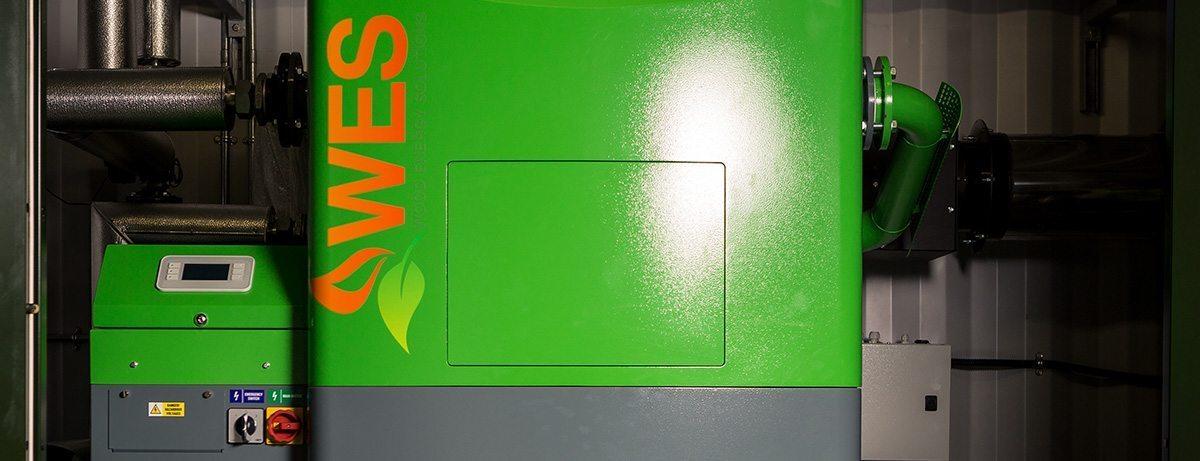 SuperMax pelletketel voor houtsnippers en houtpellets