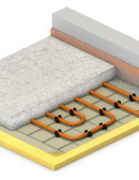 Technea - Vloerverwarming op draadstaalmatten - Variotherm