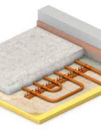 Technea - Vloerverwarming op kunststof rails - Variorast