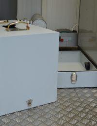automatische asafvoer houtpellets