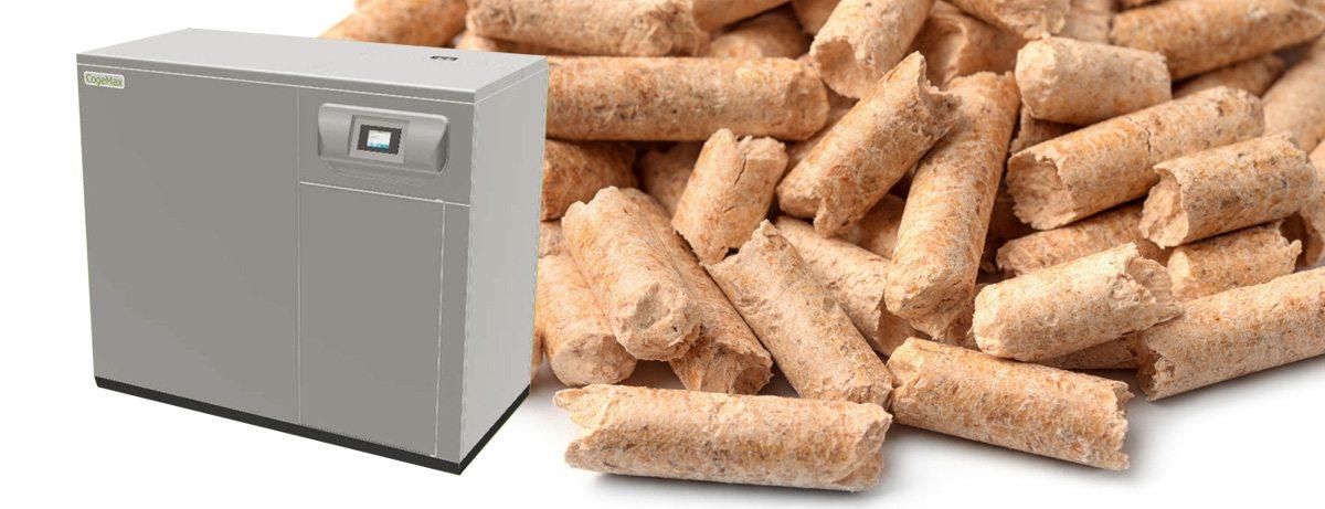 WKK houtpellet cv-ketel voor warmte én stroom