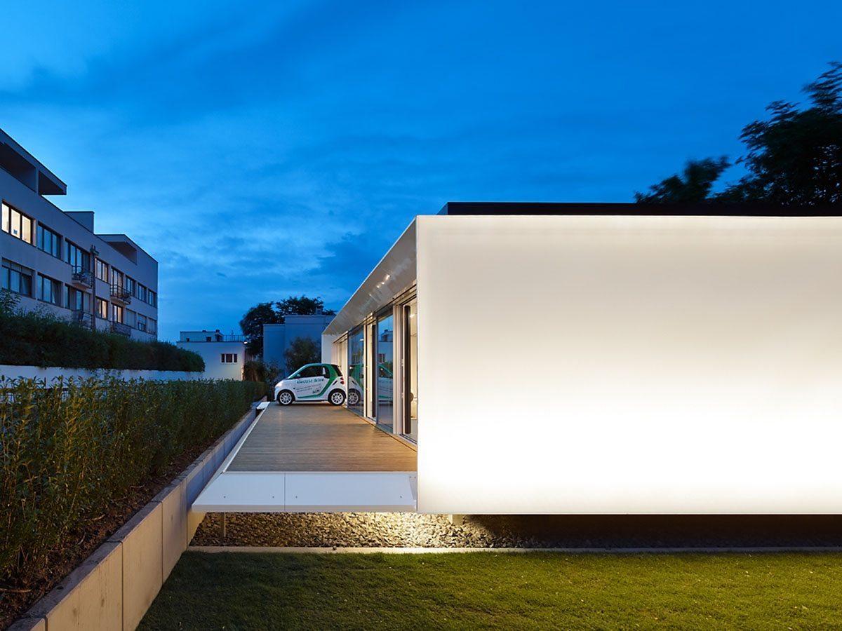 Ltv verwarming in tinyhouse luxe villa technea