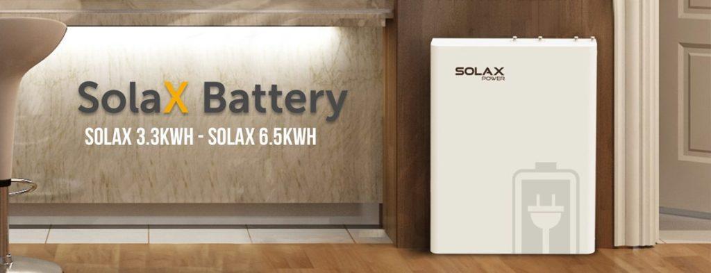 Solax Power accupakket zonnepanelen