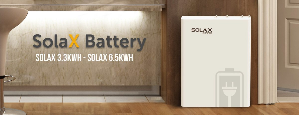 Solax Power – Zonnestroombatterij 6,5kWh
