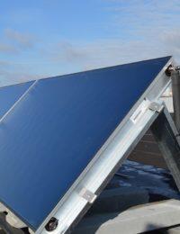 Vlakkeplaat zonnecollectoren