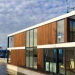 Woonboot woonark met vloerverwarming