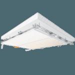 Plafondverwarming, koelplafond, klimaatplafond voor op regelwerk