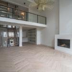 Grachtenpand met lage opbouw vloerverwarming