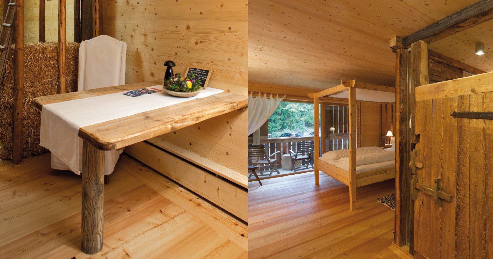 Slaapkamer In Tuinhuis : Plintverwarming & vloerverwarming in luxe blokhut technea