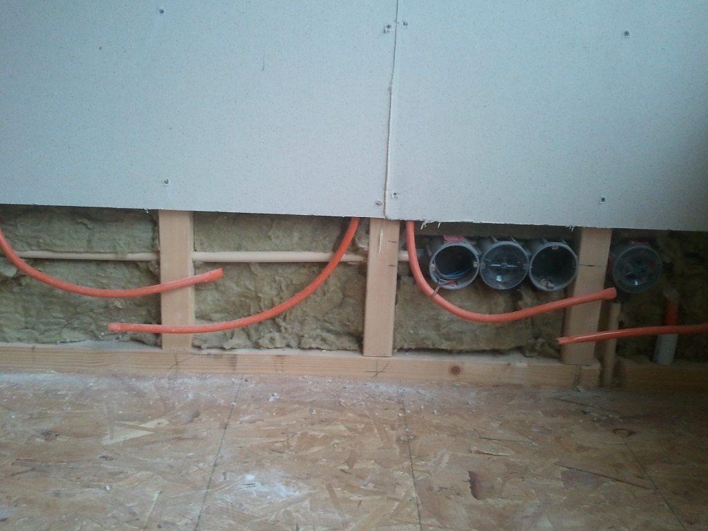 LTV-verwarmingssystemen in woning: wandverwarming, vloerverwarming, ..