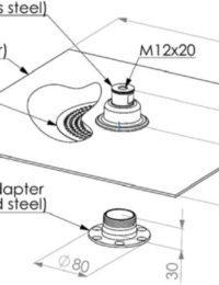 Afmetingen Jual Solar montagemateriaal