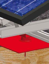 Jual Solar - ballastvrij montagesysteem - koud houten dak