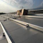 PVC dak klaar voor zonnepanelen