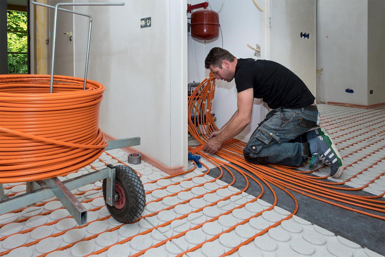 Vloerverwarming Badkamer Retourleiding : Vloerverwarming bij bestaande vloer wat zijn de mogelijkheden