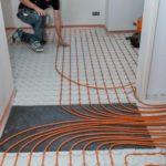 Droogbouw vloerverwarming leggen