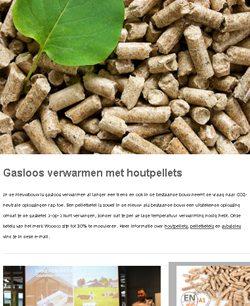 Nieuwsbrief over biomassa en pelletketels