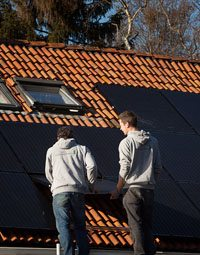 Zonnepanelen laten installeren