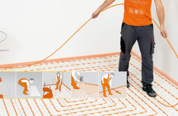 Vloerverwarming bestaande vloer