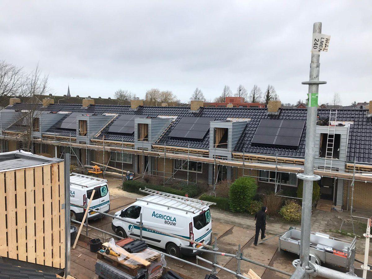 Woningcorporatie laat zonnepanelen op sociale huurwoning for Huurwoningen