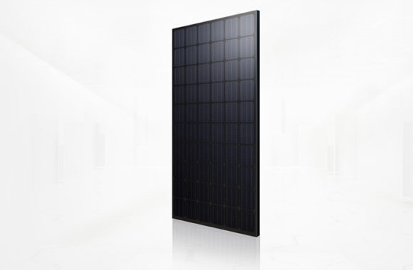 Zwarte zonnepanelen