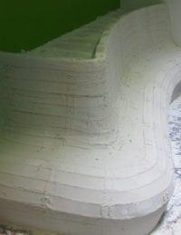 Muurverwarming op ronde vormen