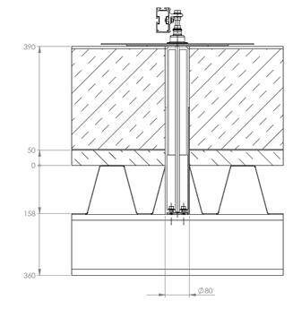 Constructiemateriaal trapezium dak