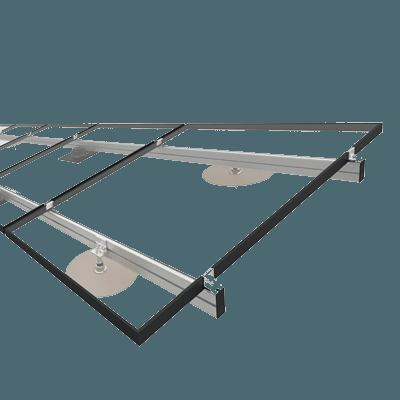 Jual Solar montagesysteem voor schuin / hellend dak