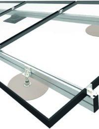 Zonnepanelen frame voor op schuin dak