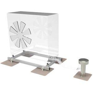 Warmtepomp montageframe voor op plat dak