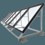 Montageframe zonnecollectoren