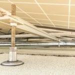Jual Solar - Ballastvrij en stormvast montagesysteem - lichte stalen constructie met bitumen dakbedekking - IJzershop