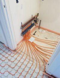 Kunststof verdeler vloerverwarming