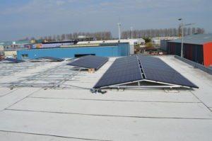 JualSolar ballastvrij montagesystemen voor bitumen dakbedekking