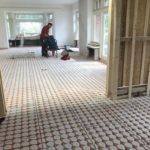 Renovatie landhuis met vloerverwarming