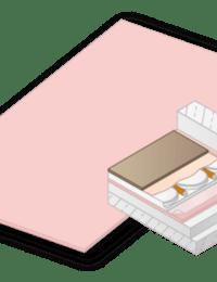 XPS isolatieplaat voor variokomp droogbouw vloerverwarming
