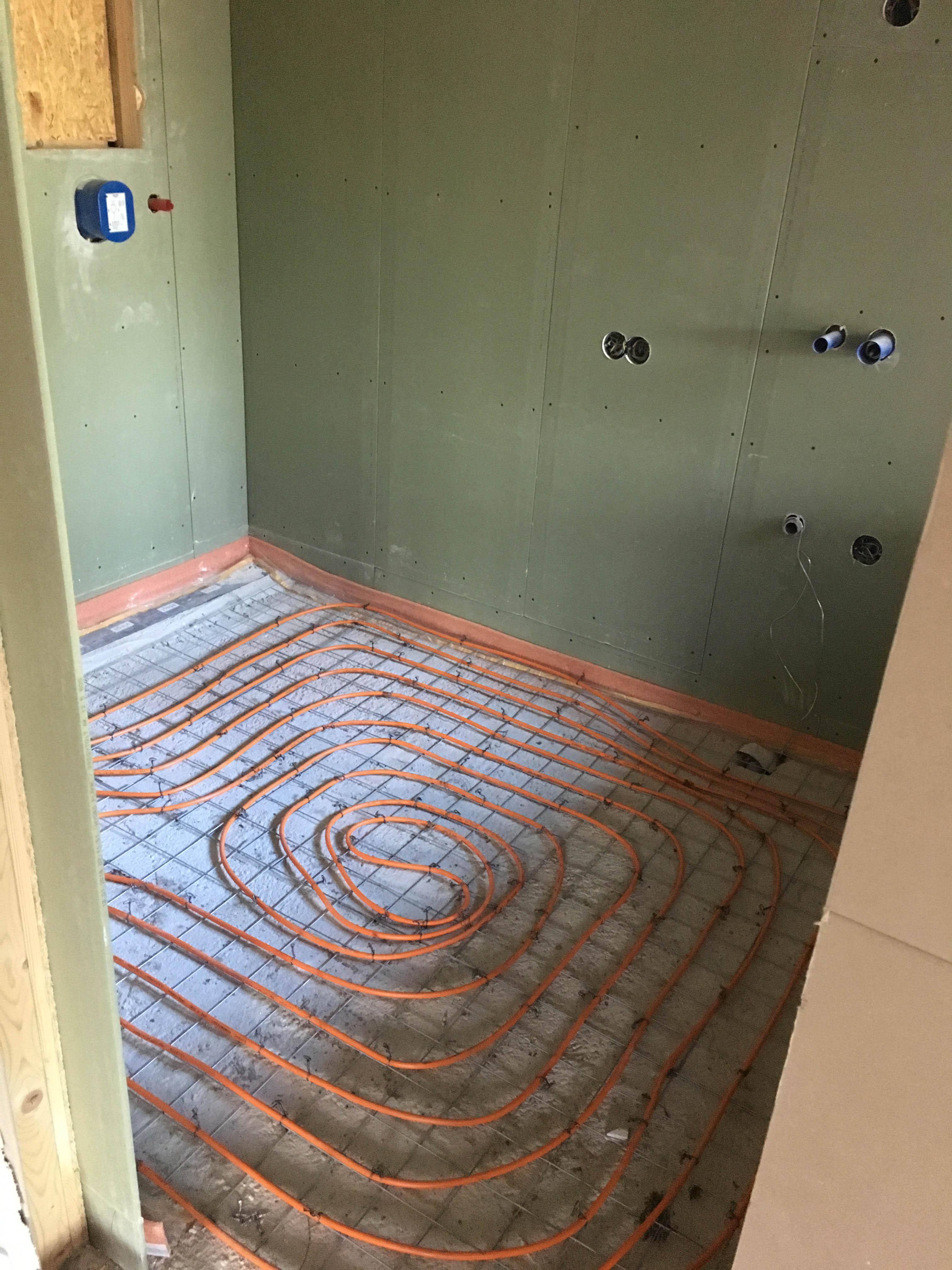 Project: 2 soorten vloerverwarming bij renovatie villa in Wassenaar