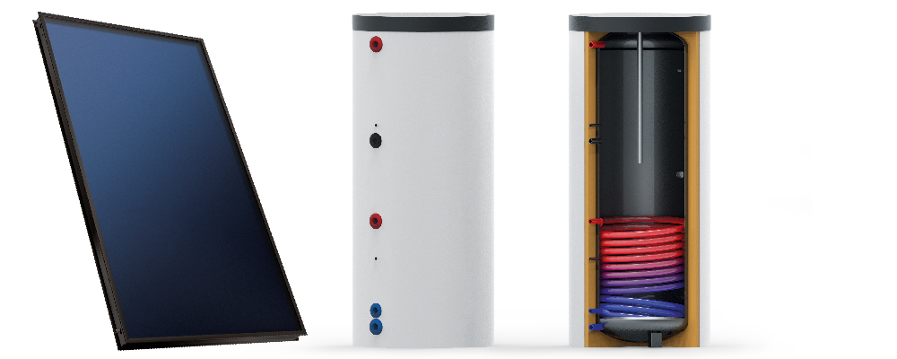 Zonneboiler – 150 liter