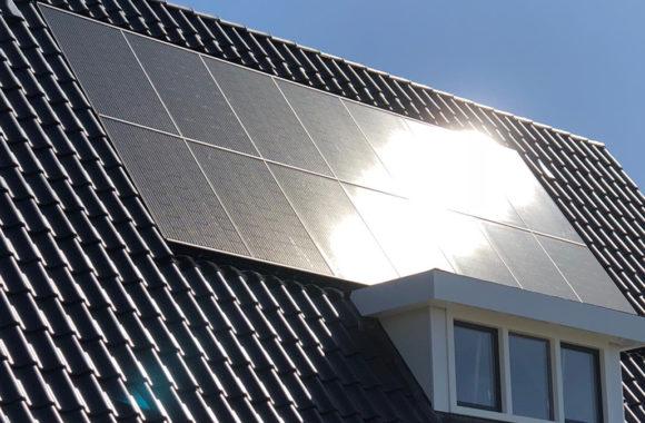 indak zonnepanelen op woning