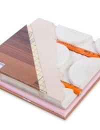 Droogbouw vloerverwarming Variokomp met hout