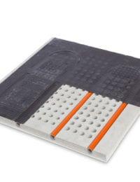 Variotherm sample - akoestisch klimaatplafond