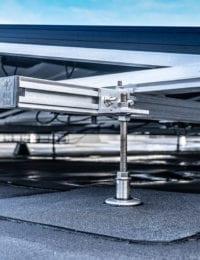 Ballastvrij montagesysteem dakconsoles of constructiemateriaal van Jual Solar
