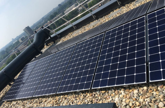 zonnepanelen op hoogbouw in den haag