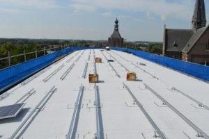 Rond dak - montagesysteem voor zonnepanelen