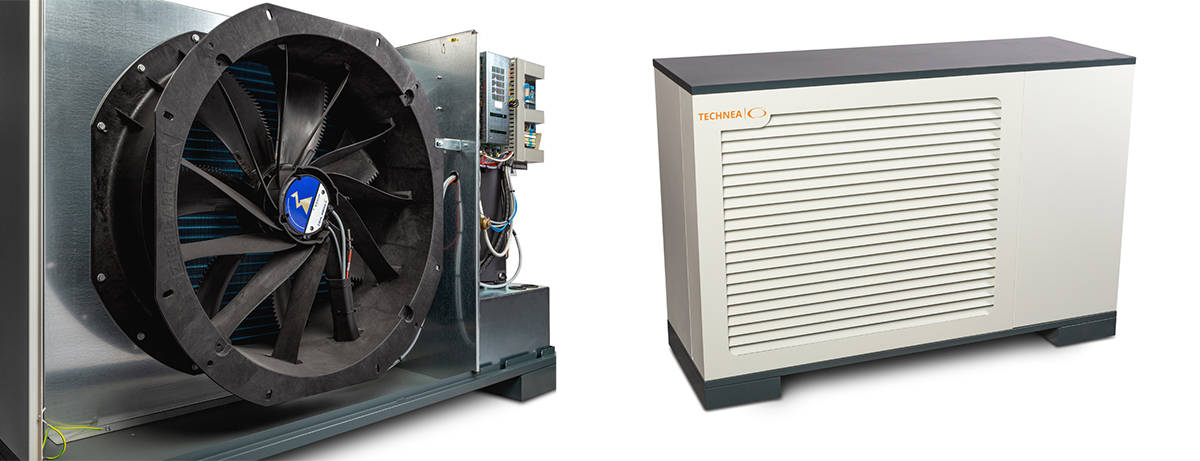 Monoblock warmtepomp LWPC | 4-120kW