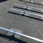 Montageframe pv op bitumen dakbedekking