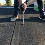 montagesysteem pv op bitumen dakbedekking