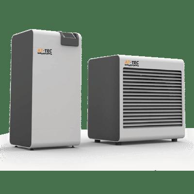 warmtepomp lucht water split unit - AT-Tec