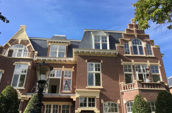 Renovatie villa naar luxe appartementen